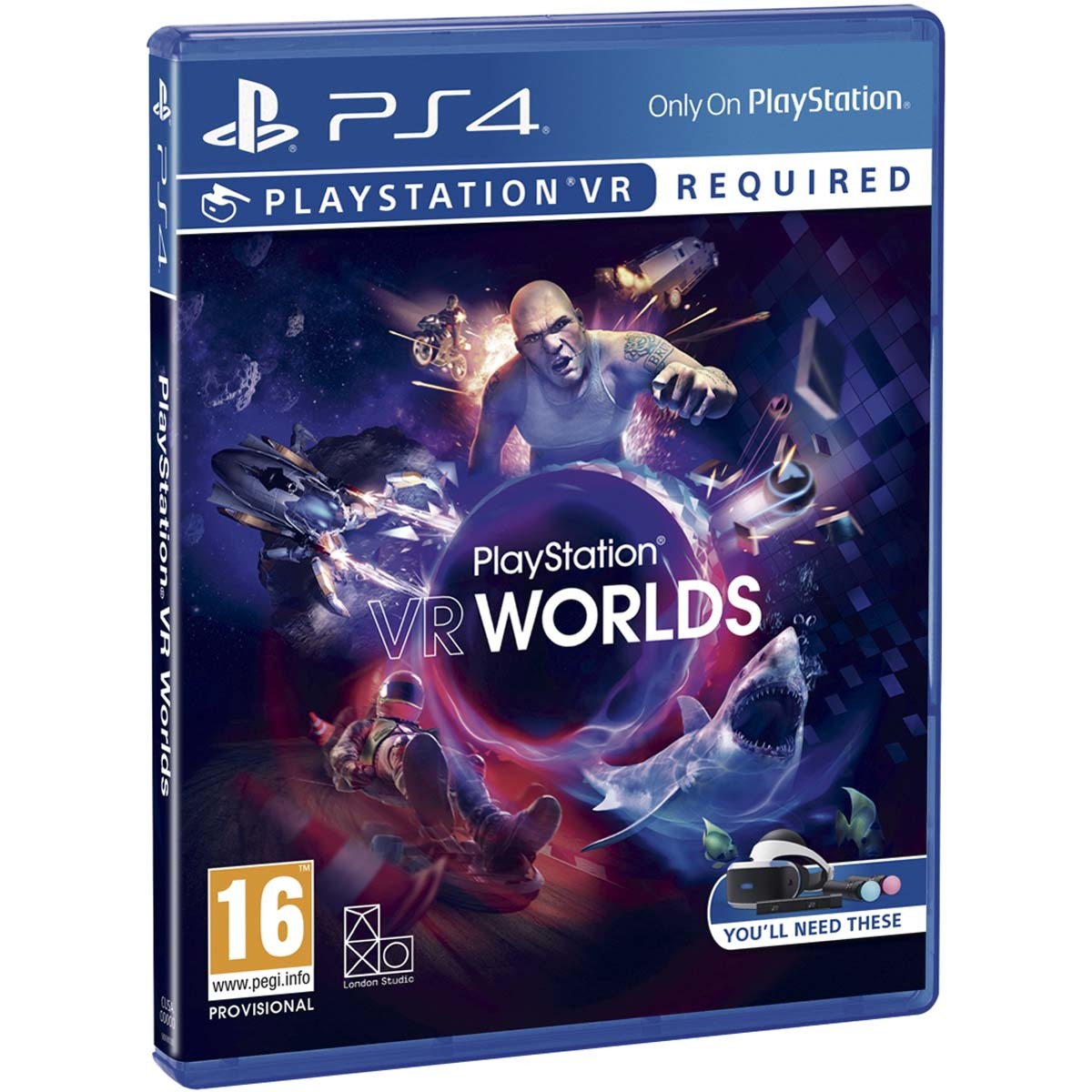 Vr Worlds-Ps4