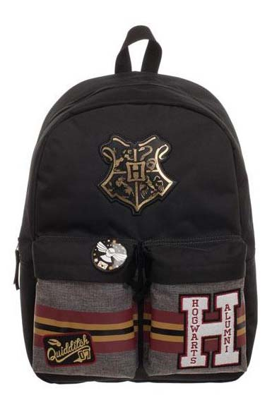 Mochila Harry Potter Hogwarts Parches