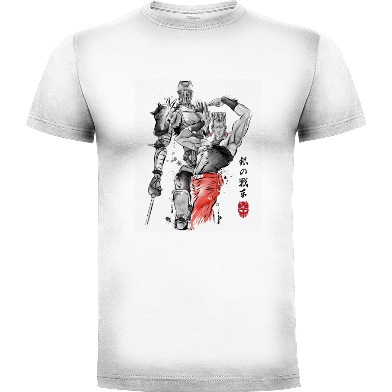 Camiseta Silver Chariot sumie