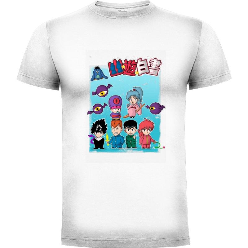 Camiseta chibi yuyu