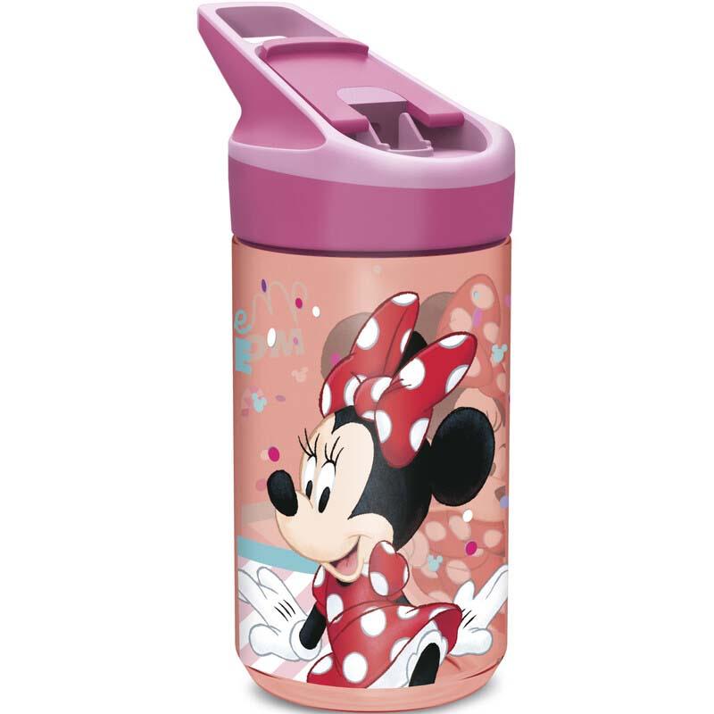 Botella Tritan Pequeña Minnie Mouse Lunares Rojos