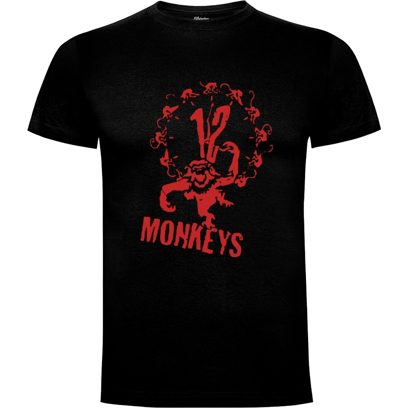 Camiseta 12 Monos  12 Monkeys