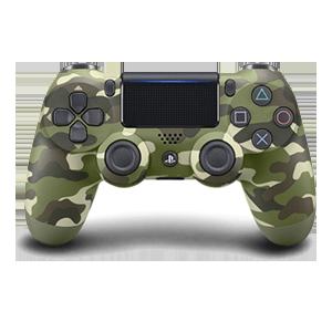 Ps4 Dualshock Green Camouflage V2