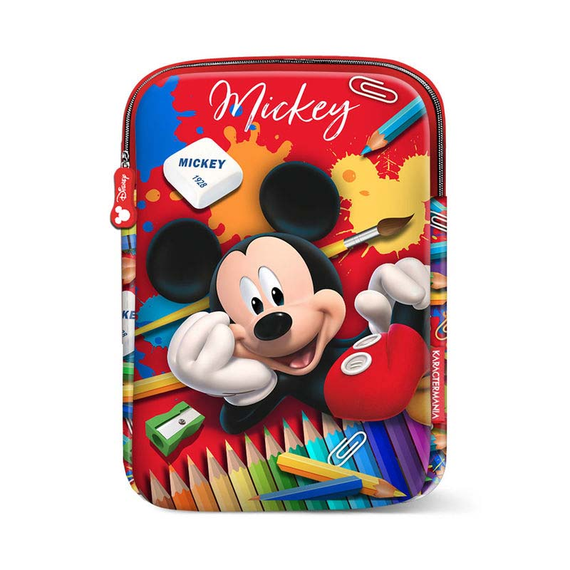Funda De Tableta Mickey Crayons