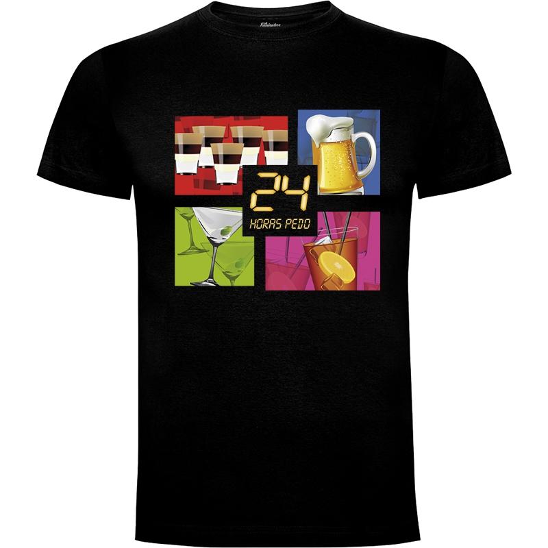 Camiseta 24 Horas Pedo