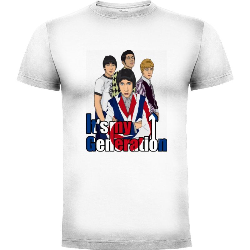 Camiseta its my generation (por Gualda Trazos)