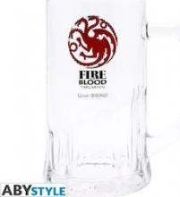 Juego de Tronos - Jarra de Cerveza de la Casa Targaryen