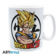 Dragon Ball Z Taza Goku