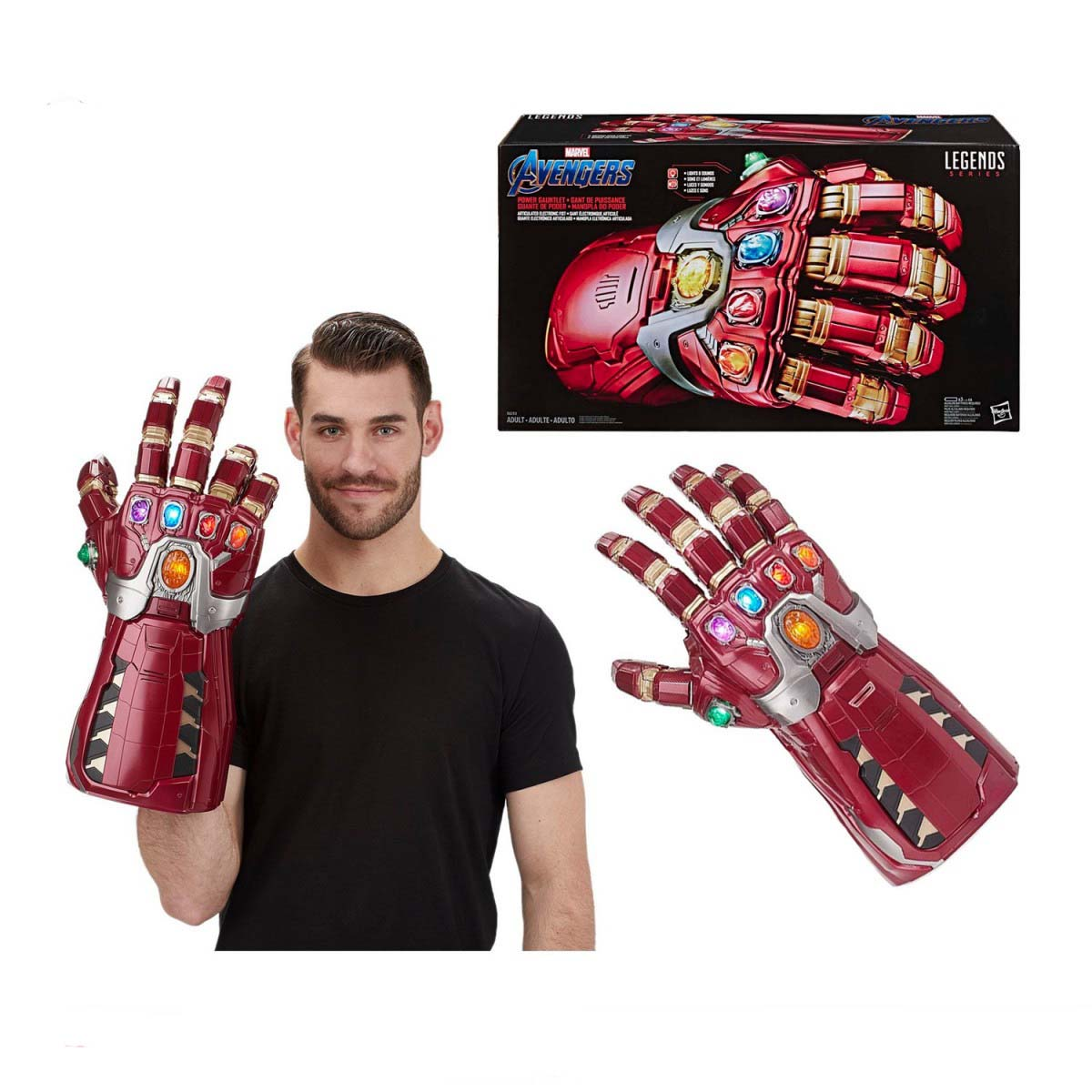 Guante Electronico Iron Man Marvel