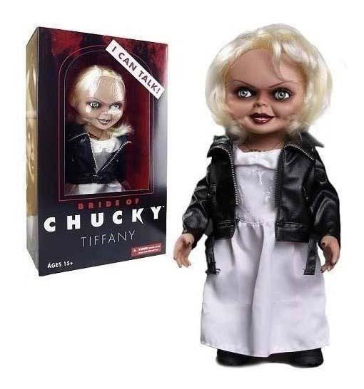 Figura Novia De Chucky Tiffany Mezco Toys