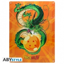DRAGON BALL Z Placa Metal Shenron