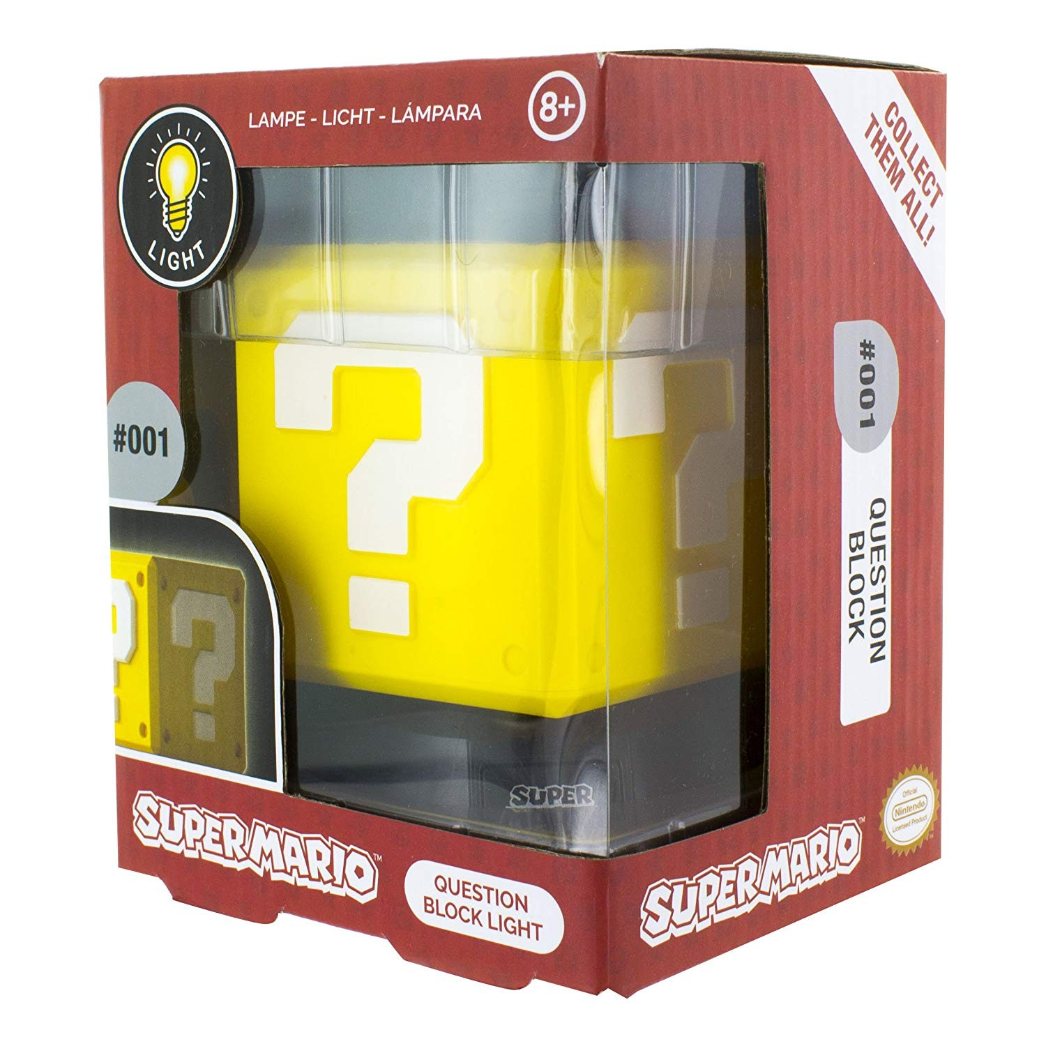 Super Mario Question Block 3D Light
