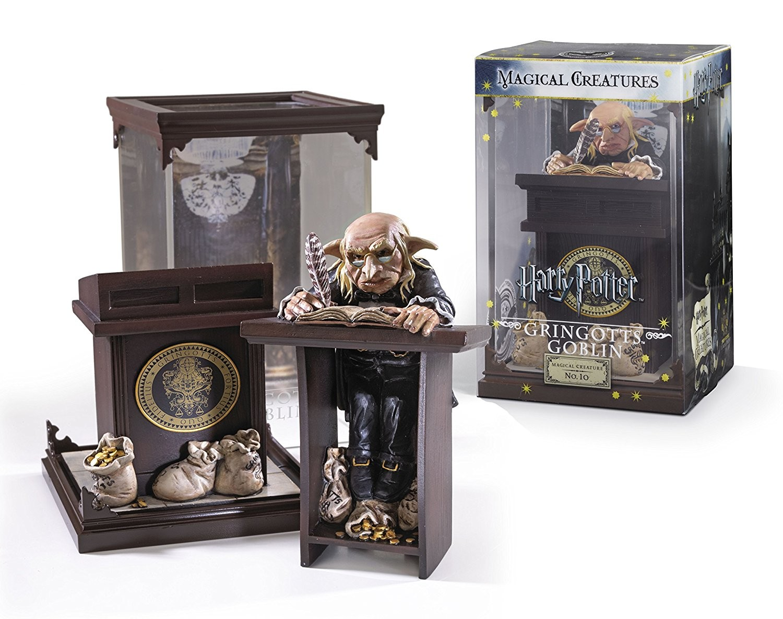 Estatua Gringotts Goblin 18 cm. Harry Potter Criaturas Mágicas