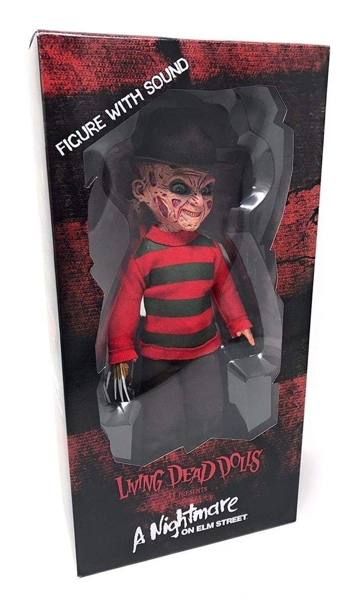 Figura Freddy Krueger con sonido 25cm Living Dead Dolls