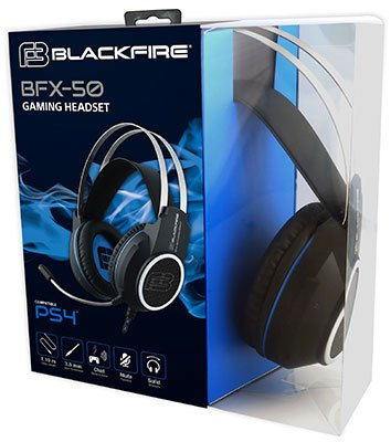 Ps4 Gaming Headset Blackfire Bfx-50
