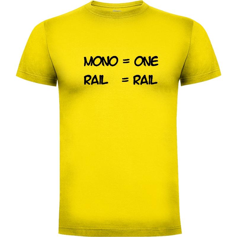 Camiseta Monorail