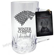 Juego de Tronos - Jarra de Cerveza de la Casa Stark