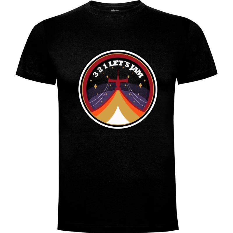 Camiseta 3 2 1 lets jam