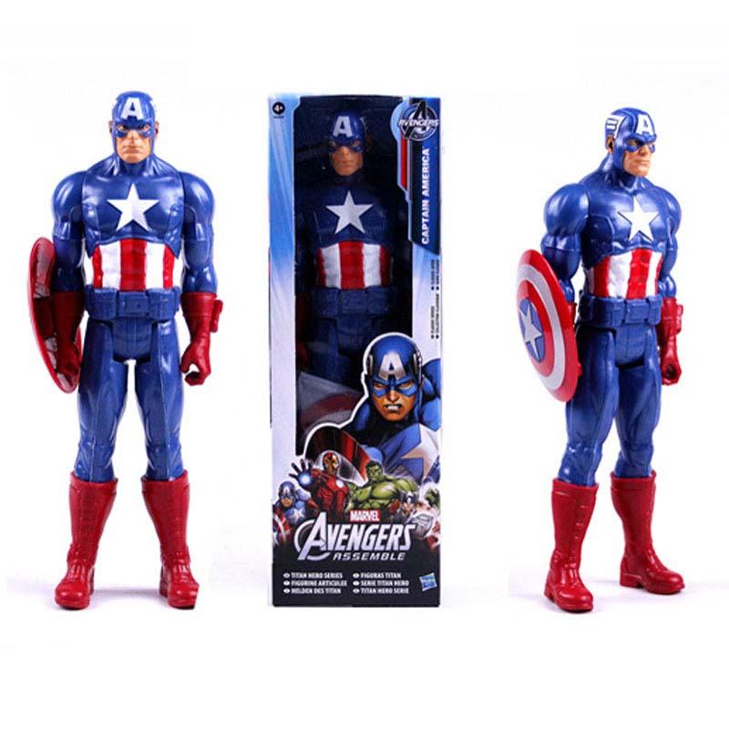Figura Capitan America Titan Heroe Series