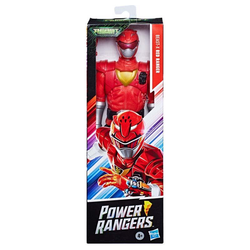 Figura Beast-X Mode Ranger Rojo Power Rangers