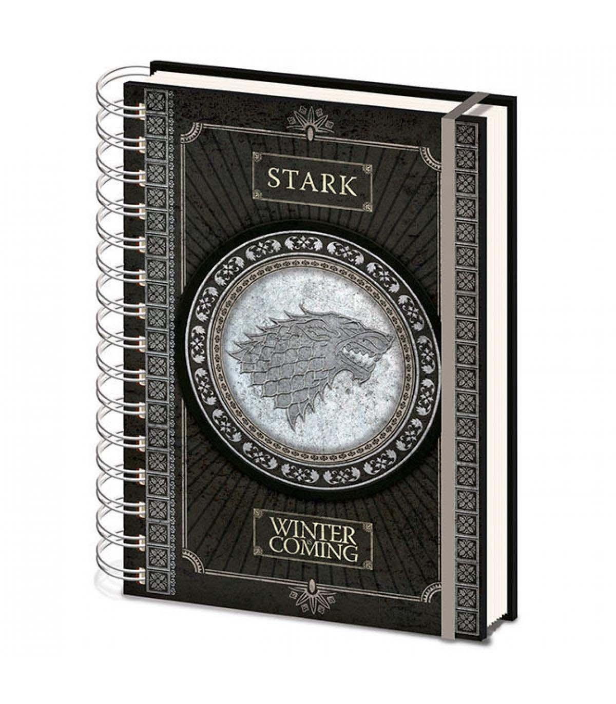 Cuaderno A5 Juego De Tronos Stark