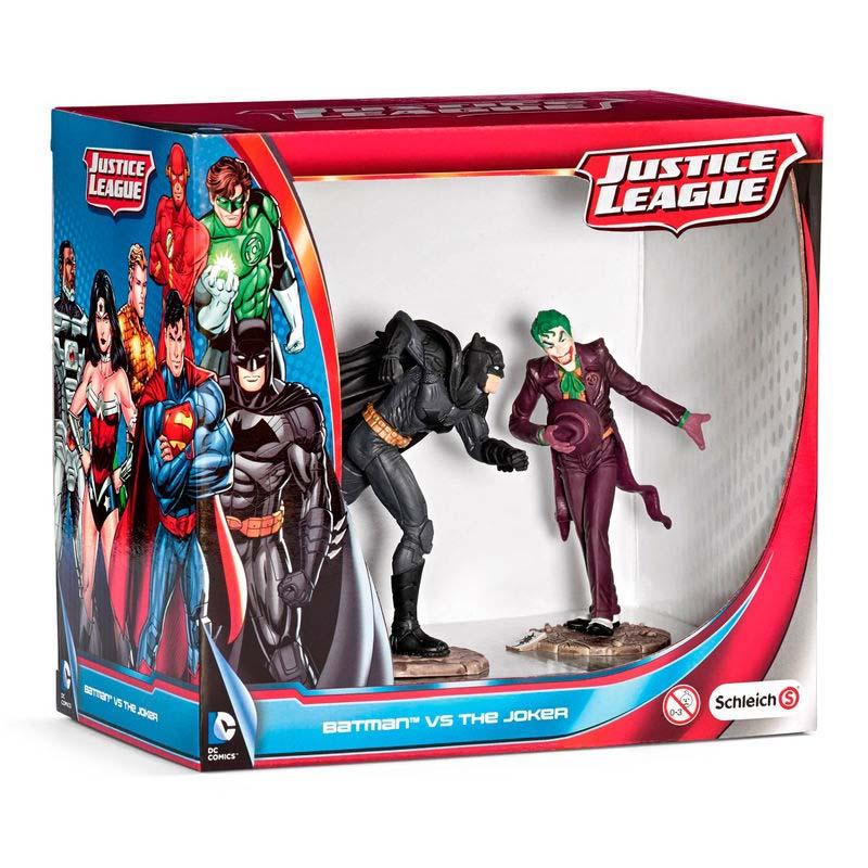 Figuras Batman Vs The Joker Liga De La Justicia Dc Comics