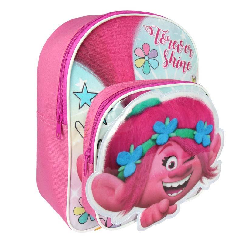 Mochila Infantil Troll Poppy