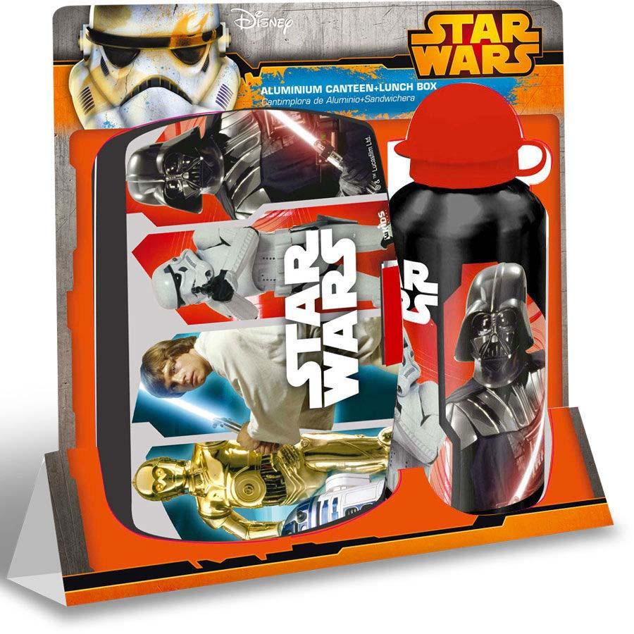 Set Sandwichera Y Botella Star Wars