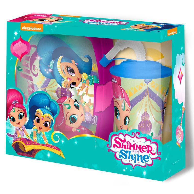 Pack De Regalo Shimmery Shine Sandwichera + Vaso Caña