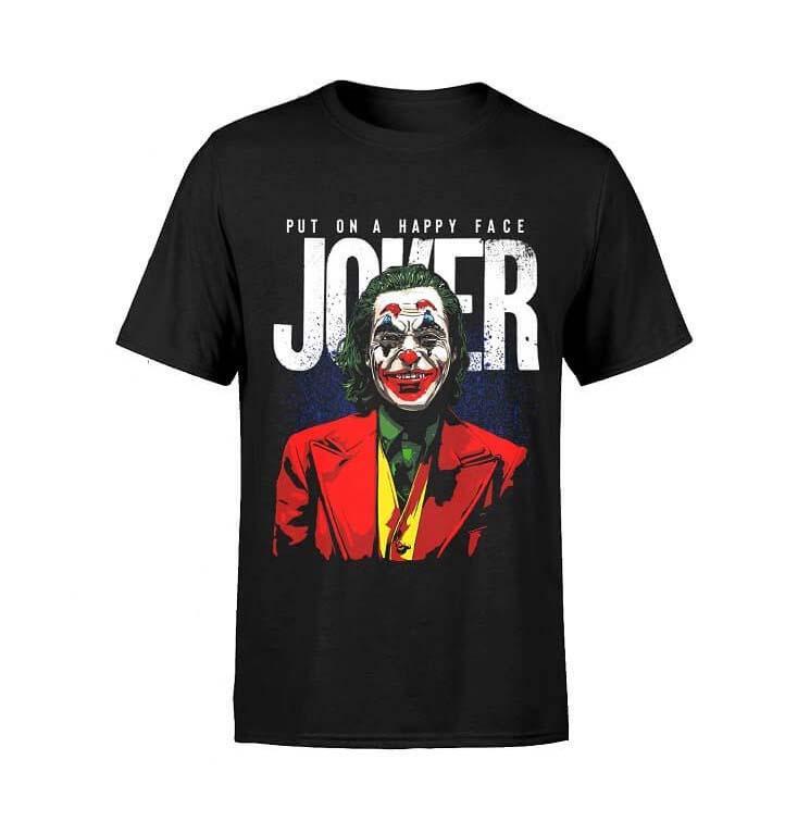 Camiseta Joker Dc Comic Talla M