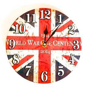 Reloj Pared De Paises