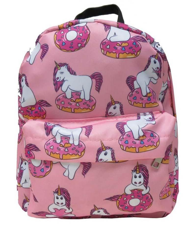 Mochila Infantil Unicornio Y Donut