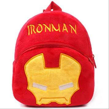 Mochila Infantil Iron Man Suave