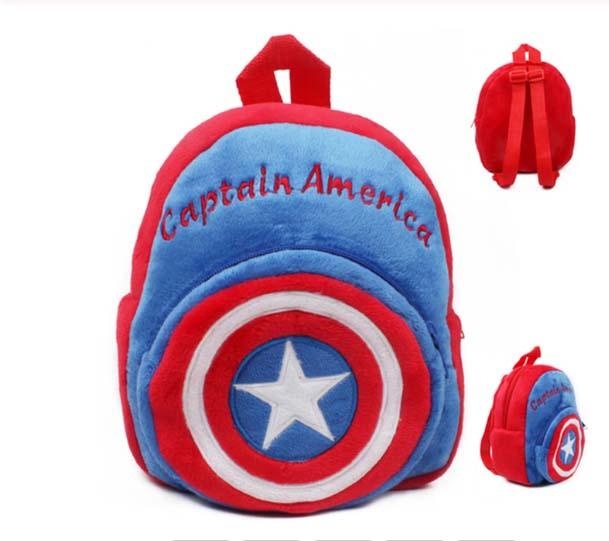 Mochila Infantil Capitan America Suave
