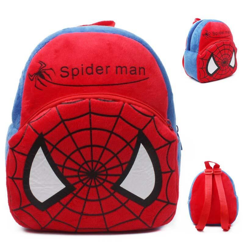 Mochila Infantil Spiderman Suave Modelo 7