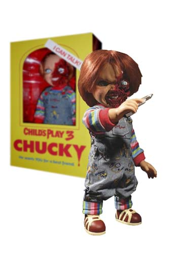Figura Chucky Pizza Face Mezco Toys