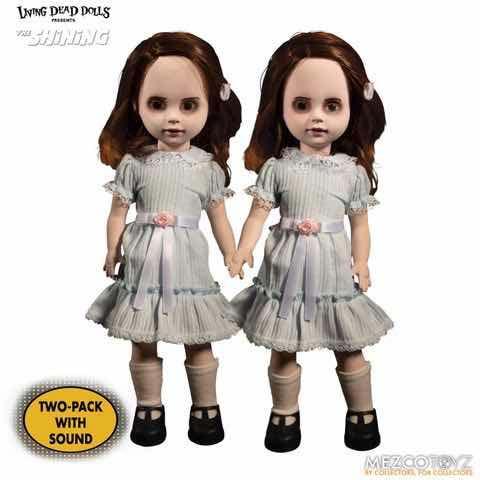 Figuras Muñecas Gemelas Grady Living Dead Dolls El Resplandor Mezco Toys