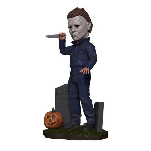 Figura Michael Myers Head Knocker Figura Halloween