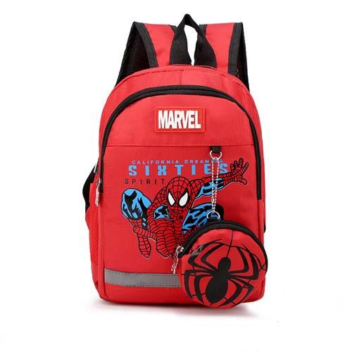 Mochila Infantil Spiderman 05