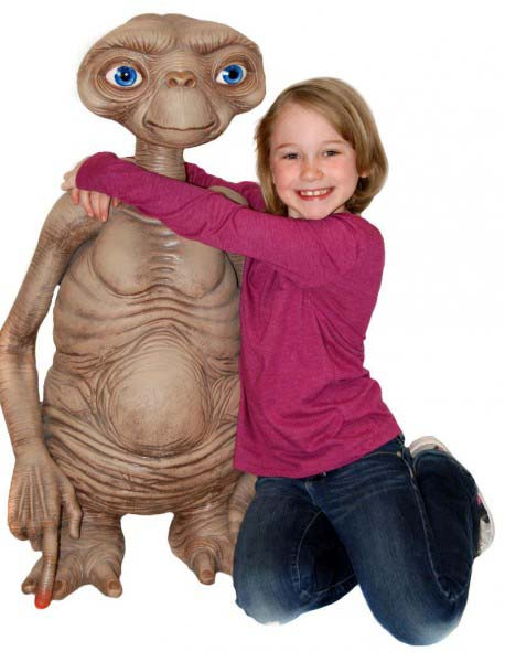 Figura E.T. El Extraterrestre Replica Escala Real 1/1 Edicion Limitada Neca