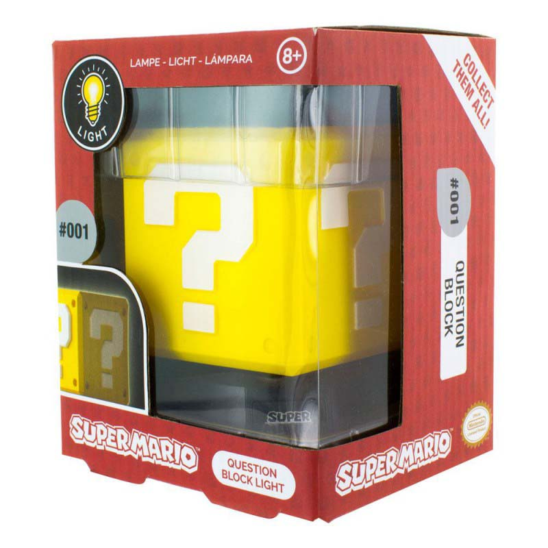 Lampara Super Mario Question Block