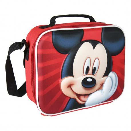 Portameriendas Térmico 3D Mickey