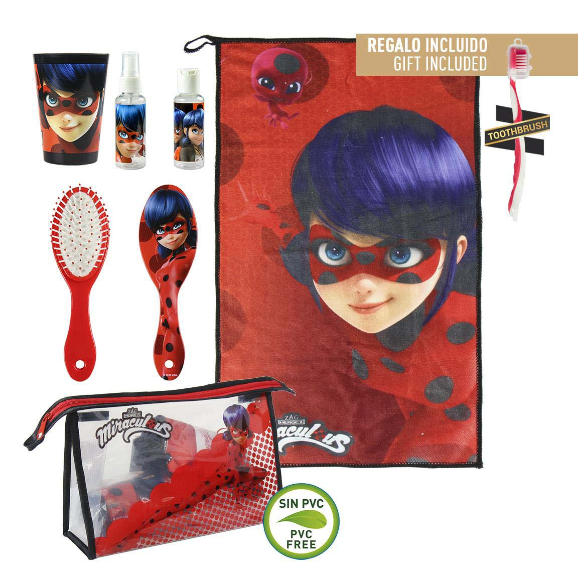 Neceser Lady Bug Aseo Personal