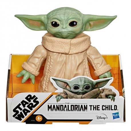 Figura Baby Yoda The Mandalorian 16 Cm