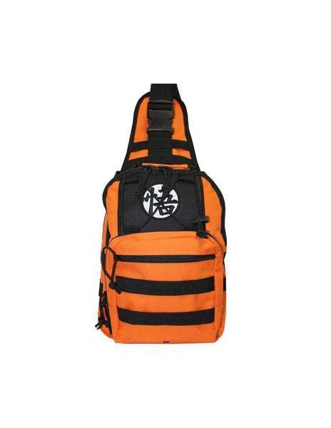 Mochila Dragon Ball Bandolera Naranja