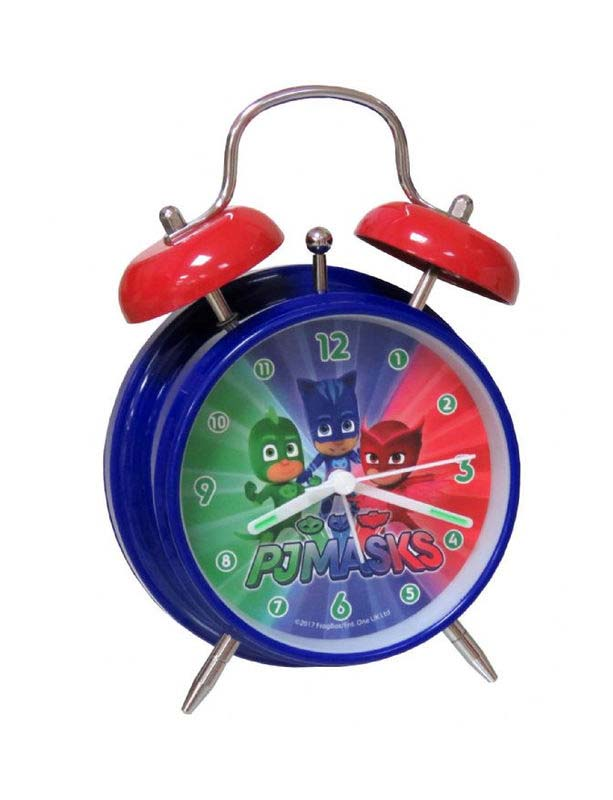 Reloj Despertador Pjmasks