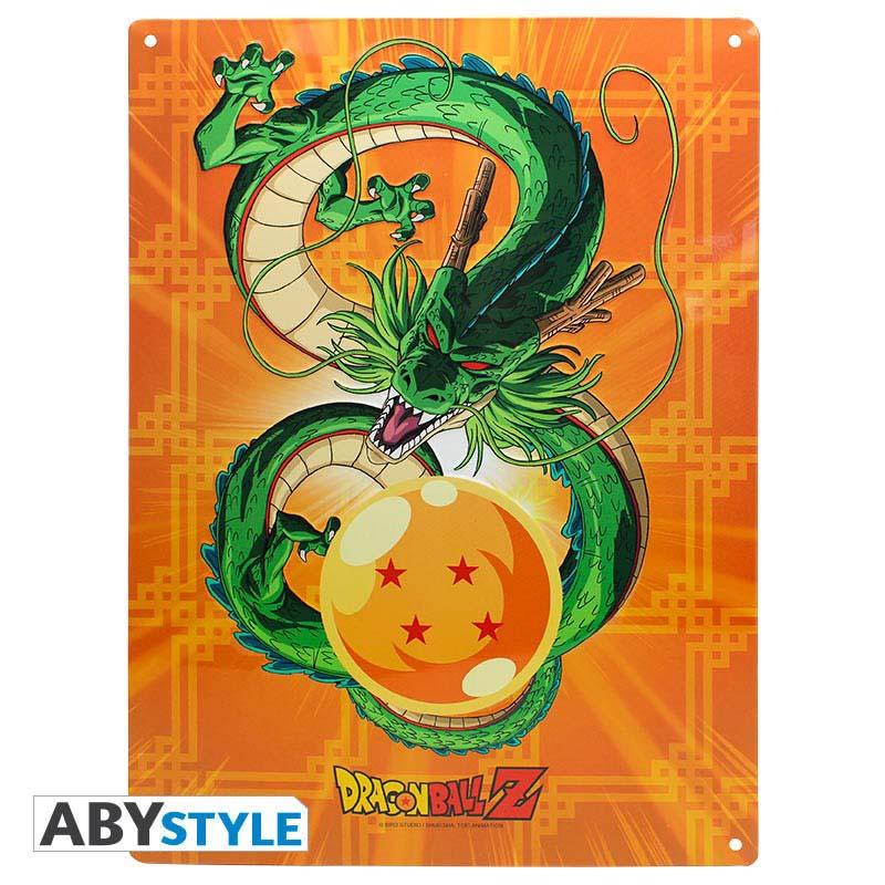 Placa De Metal Dragon Ball