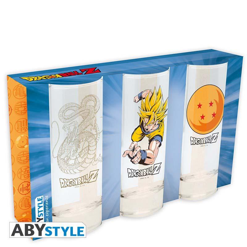 Set Vasos De Tubo Dragon Ball