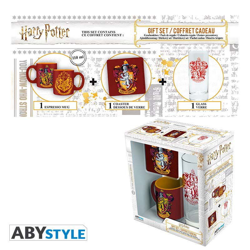 Pack Regalo Harry Potter Pack Gryffindor