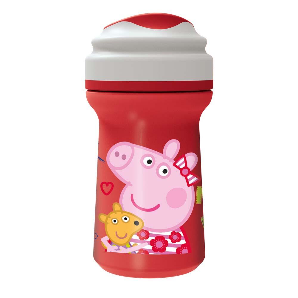 Vaso Toddler C/Tapa Peppa Pig